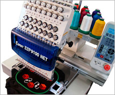 ESP9100 NET single head embroidery machine
